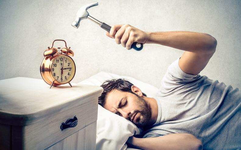 Non riesco a dormire per i pensieri