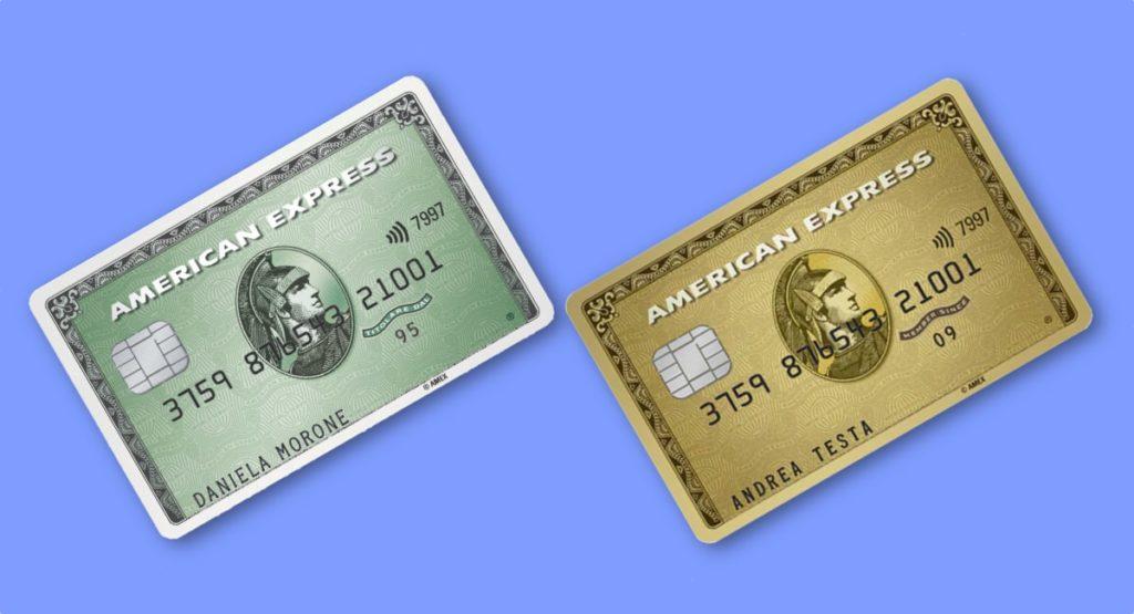 bancomat e carta di credito insieme