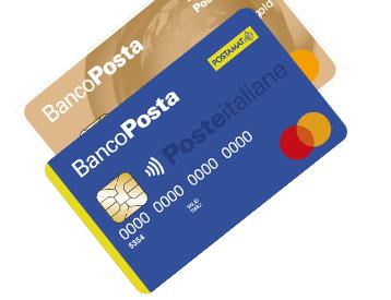 Nuova carta bancoposta mastercard
