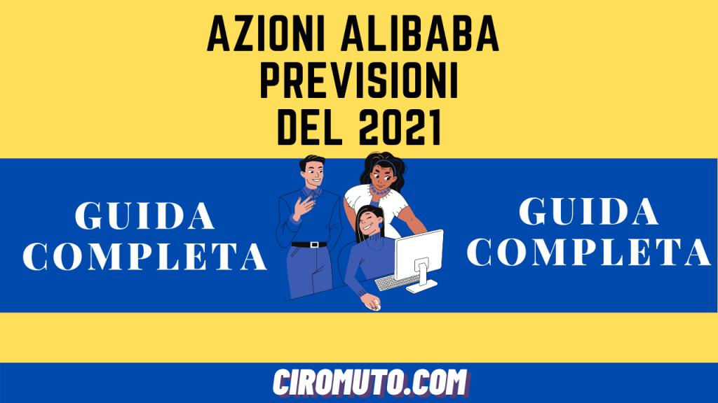 AZIONI alibaba PREVISIONI