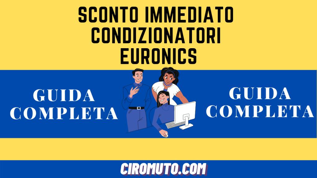 Sconto immediato condizionatori euronics