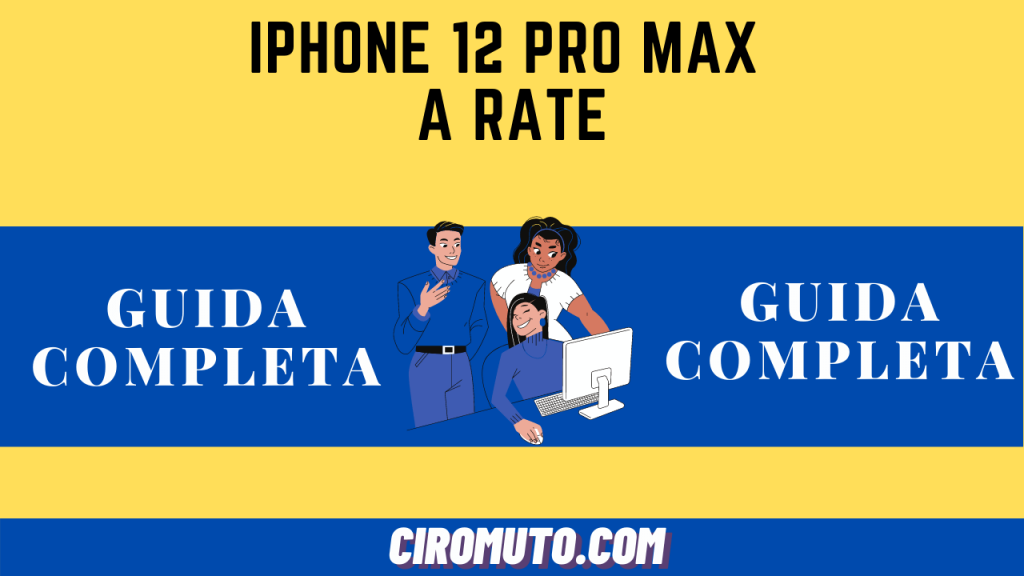 iPhone 12 PRO MAX a RATE