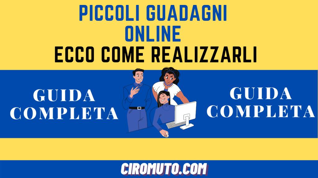 Piccoli guadagni online