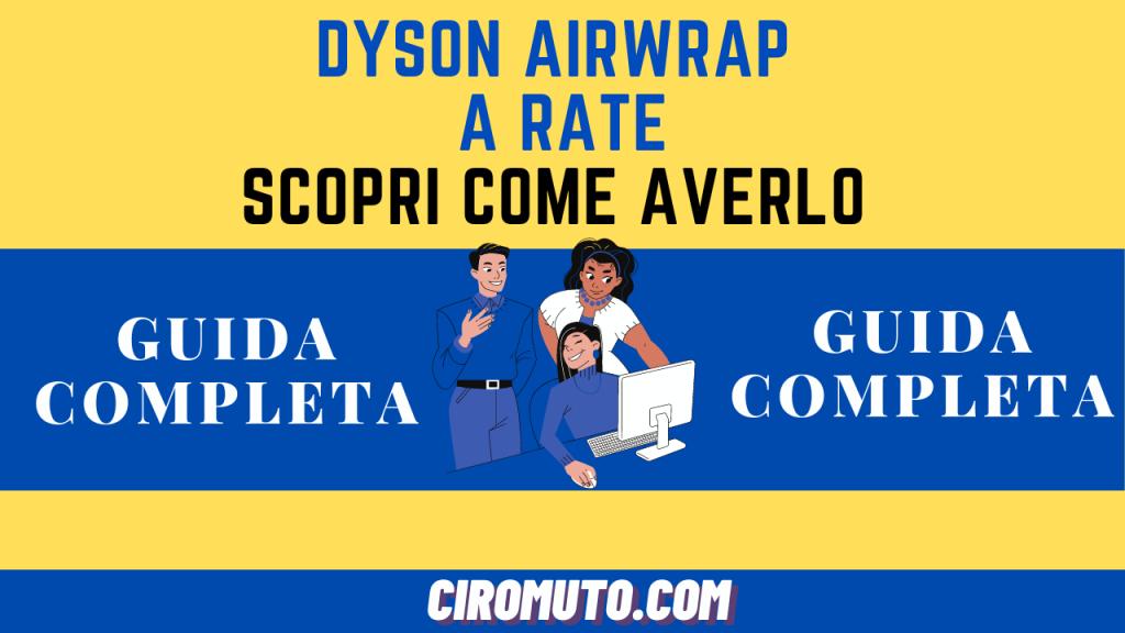 dyson airwrap a rate