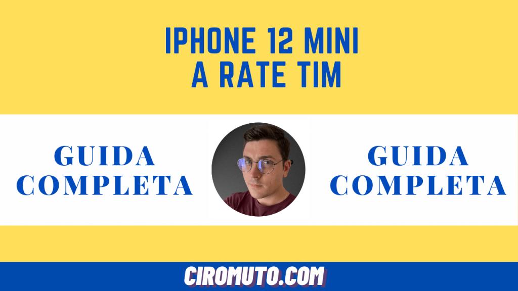 iPhone 12 mini a rate tim