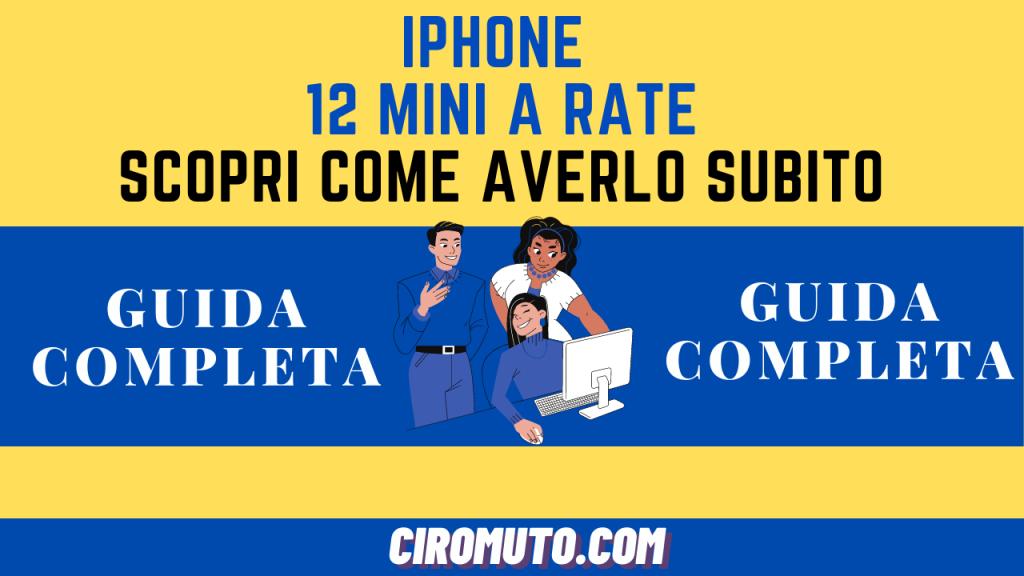 iphone 12 mini a rate