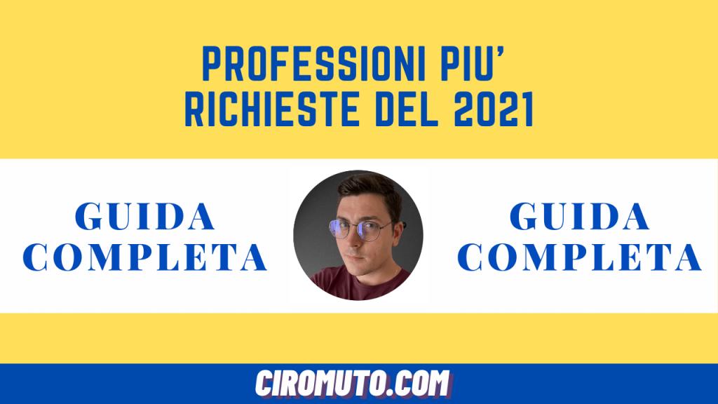 professioni più richieste 2021